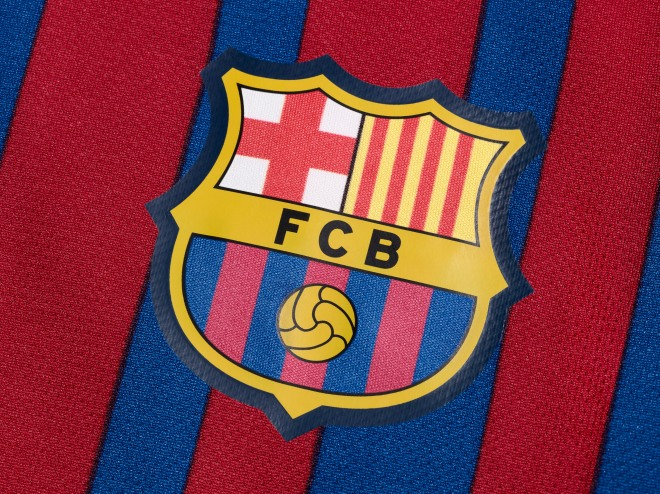 c9038e3d0 Football kit release  Nike unveil Barcelona home kit  in pictures ...