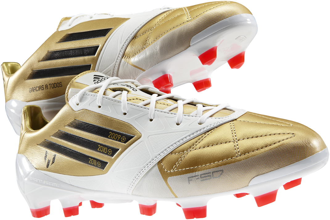 67bfd991fd9c Lionel Messi's celebratory Gold Ballon d'Or F50 adizero's – SportLocker