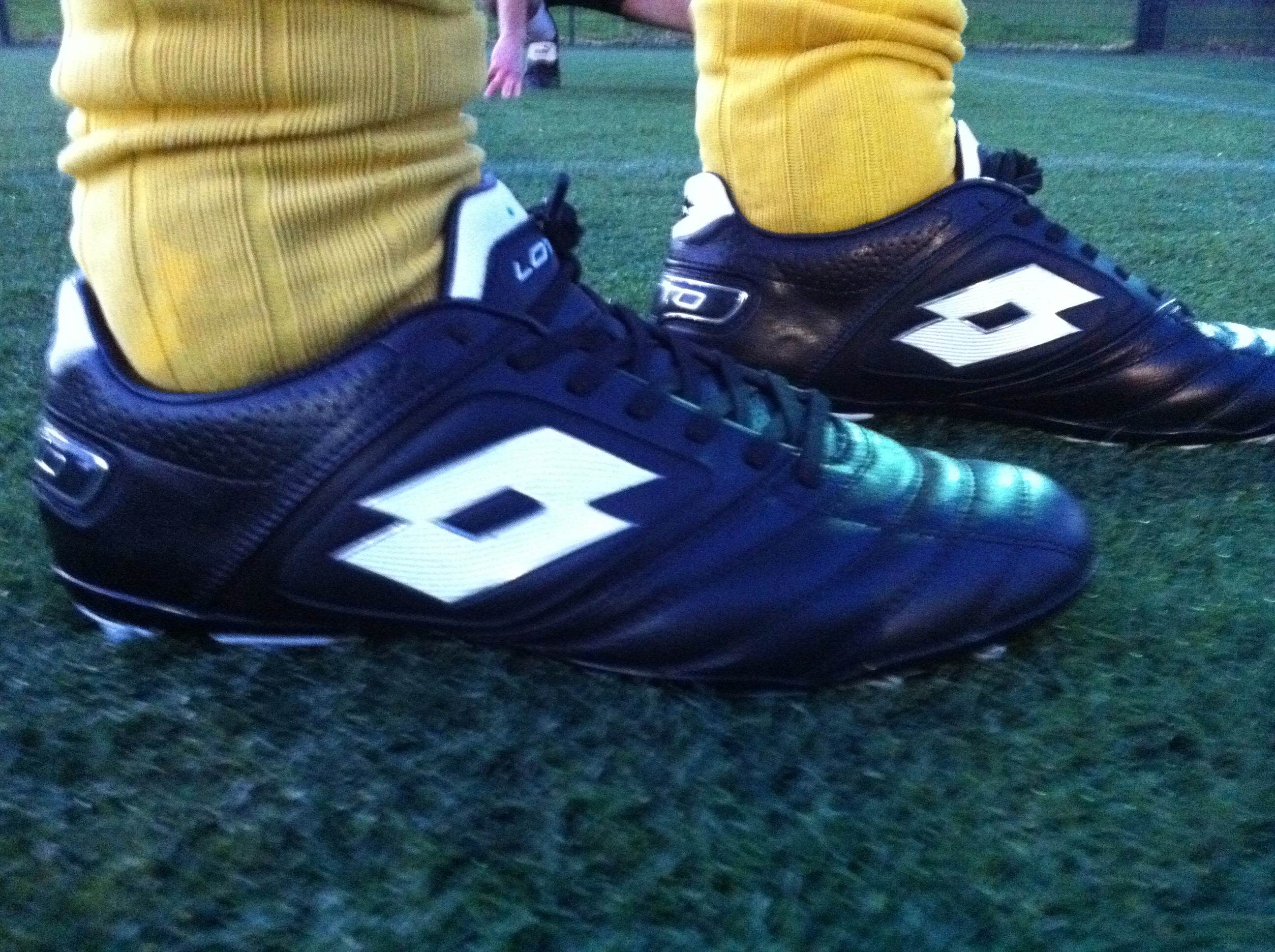 e9857af78a1216 Football boot play test review  Lotto Stadio Potenza – SportLocker