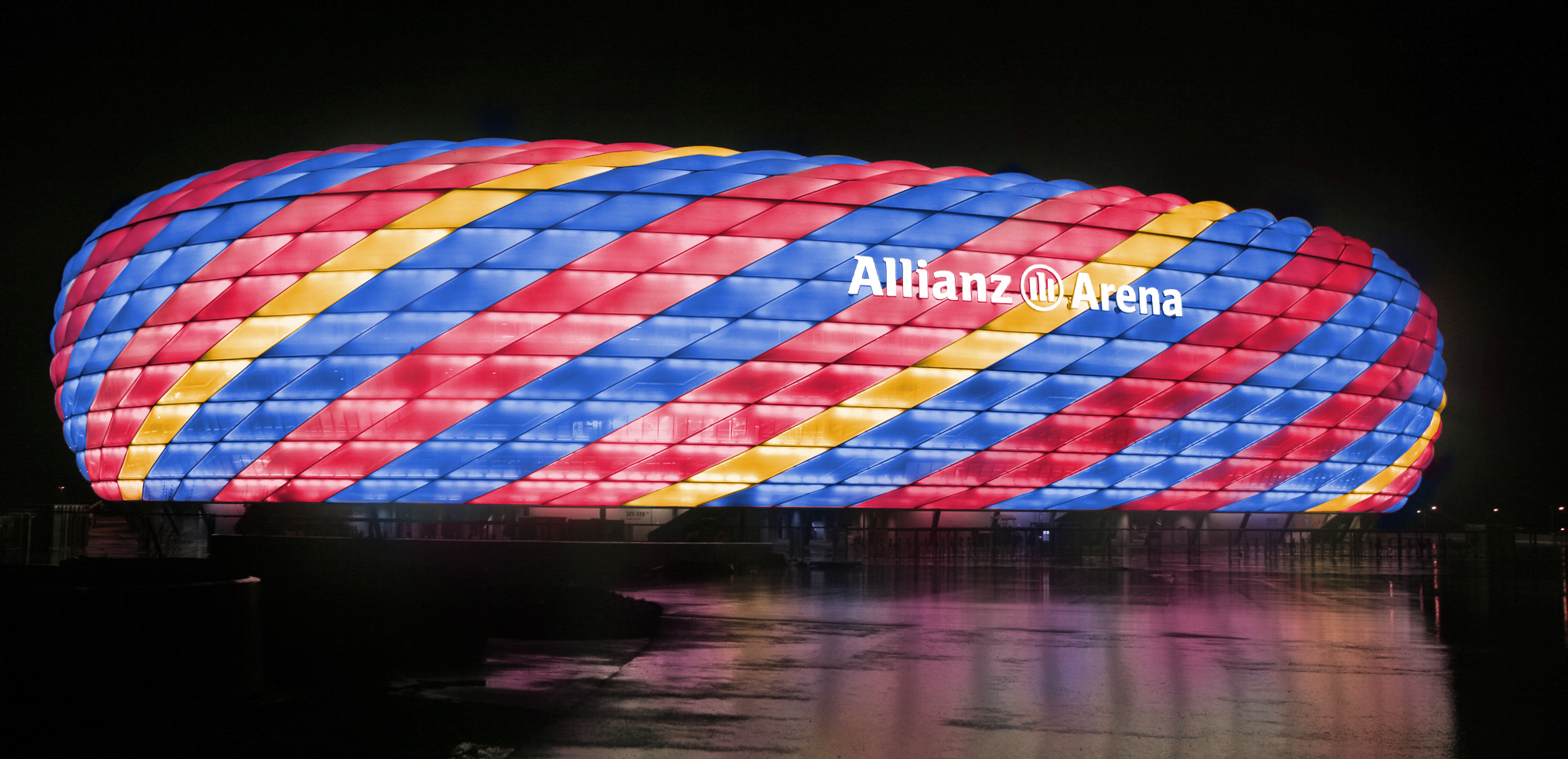Allianz Arena - All set for Champions League final ...