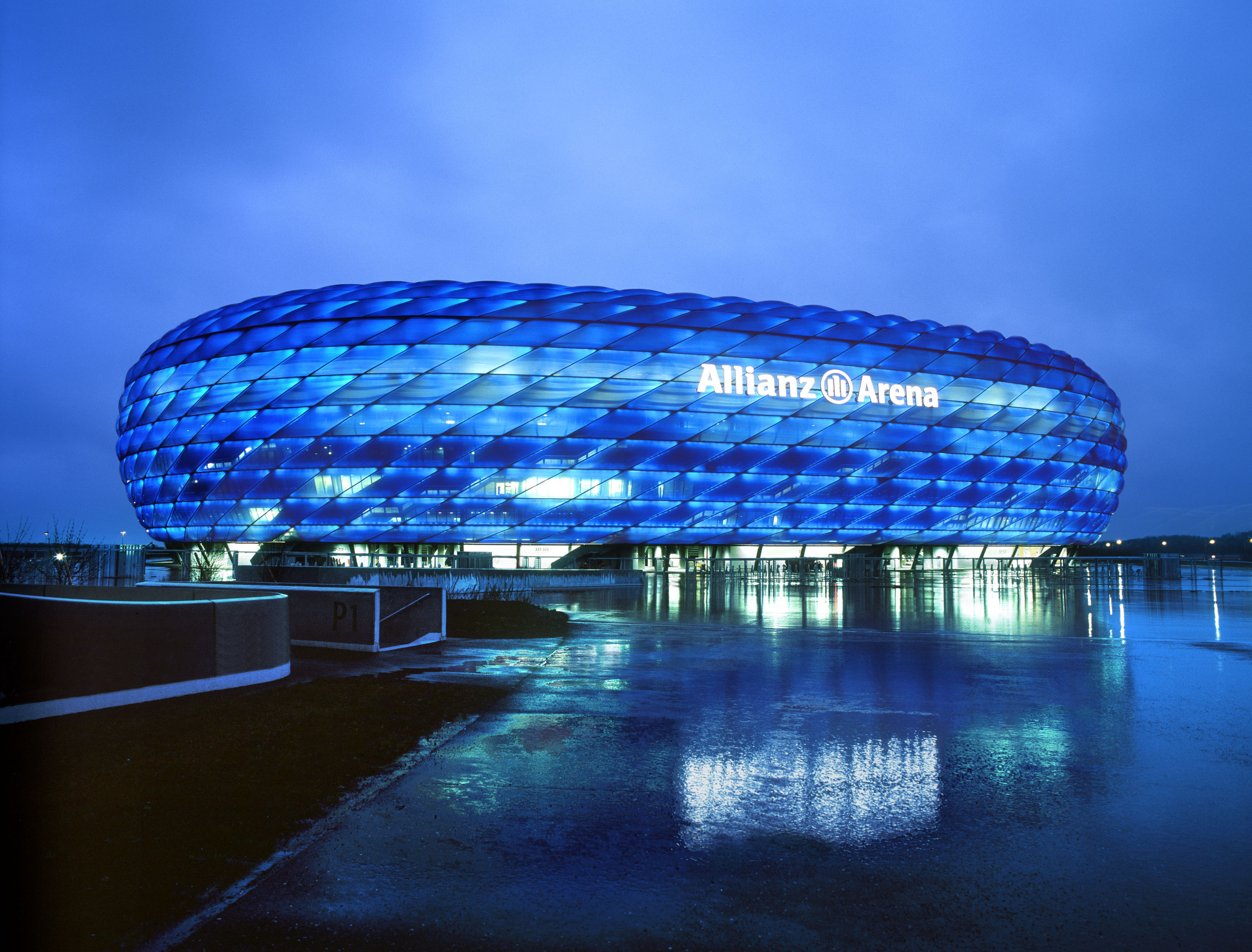 Allianz Arena  U2013 All Set For Champions League Final