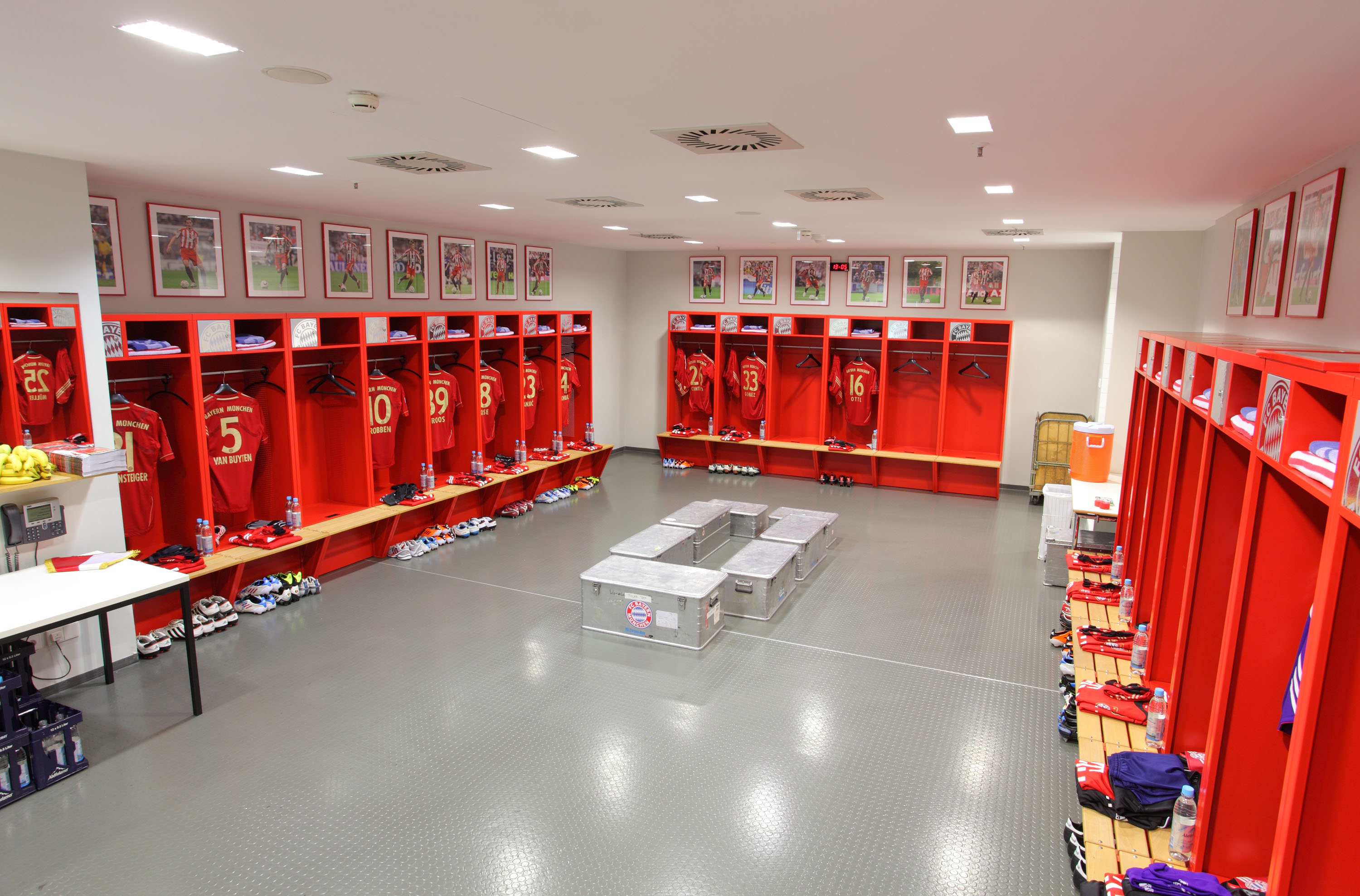 Locker Room Tour