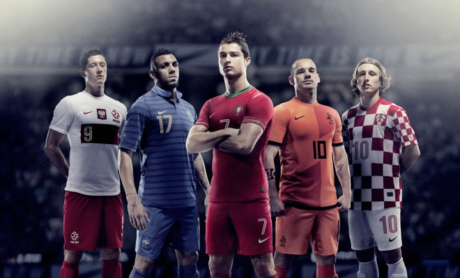 4009a18ad8e Football kit release  Nike unveil home National Team Kits for EURO 2012