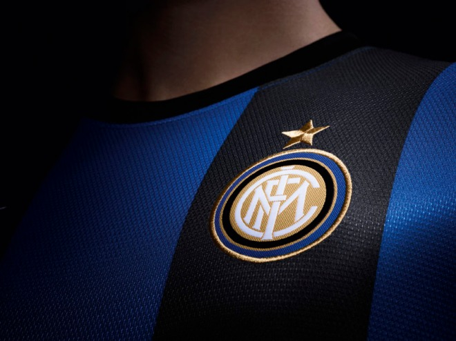 c80a22cee Football kit release   Nike unveil Inter Milan 2012 13 Home and Away kits