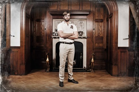 Canterbury - Geoff Parling is announced as latest brand ambassador