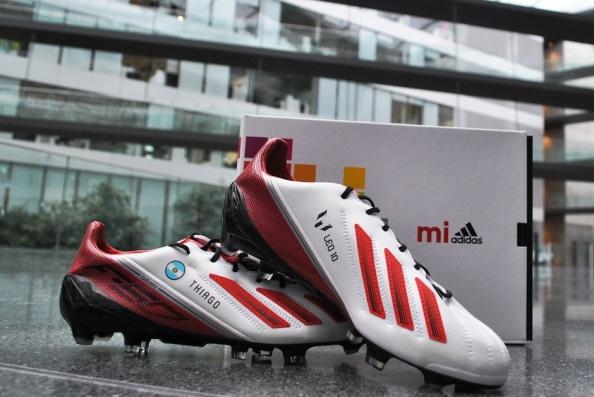 Lionel Messi S Fan Designed F50 Adizero Football Boots