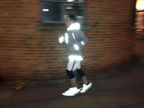 Nike LunarGlide+ 4 night profile