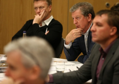 Roy Hodgson during the LMA European Managers Coaches Forum