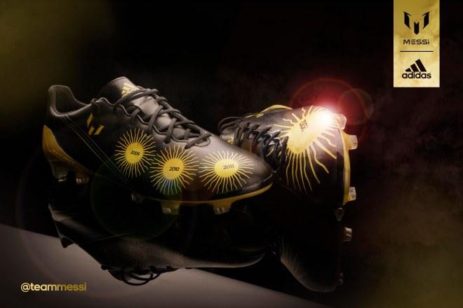 4eba9ea7c Football boot release: Lionel Messi Ballon d'Or adidas f50 adizero ...