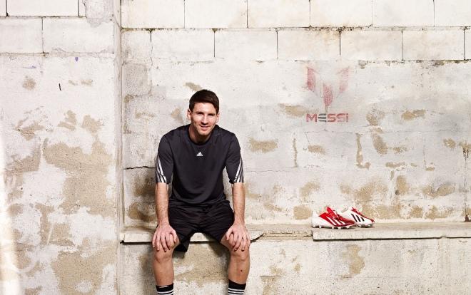 aa40a814f Football boot release: adidas unveils Lionel Messi's signature adizero f50  boot