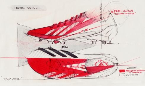 F50 messi ss13 sketch