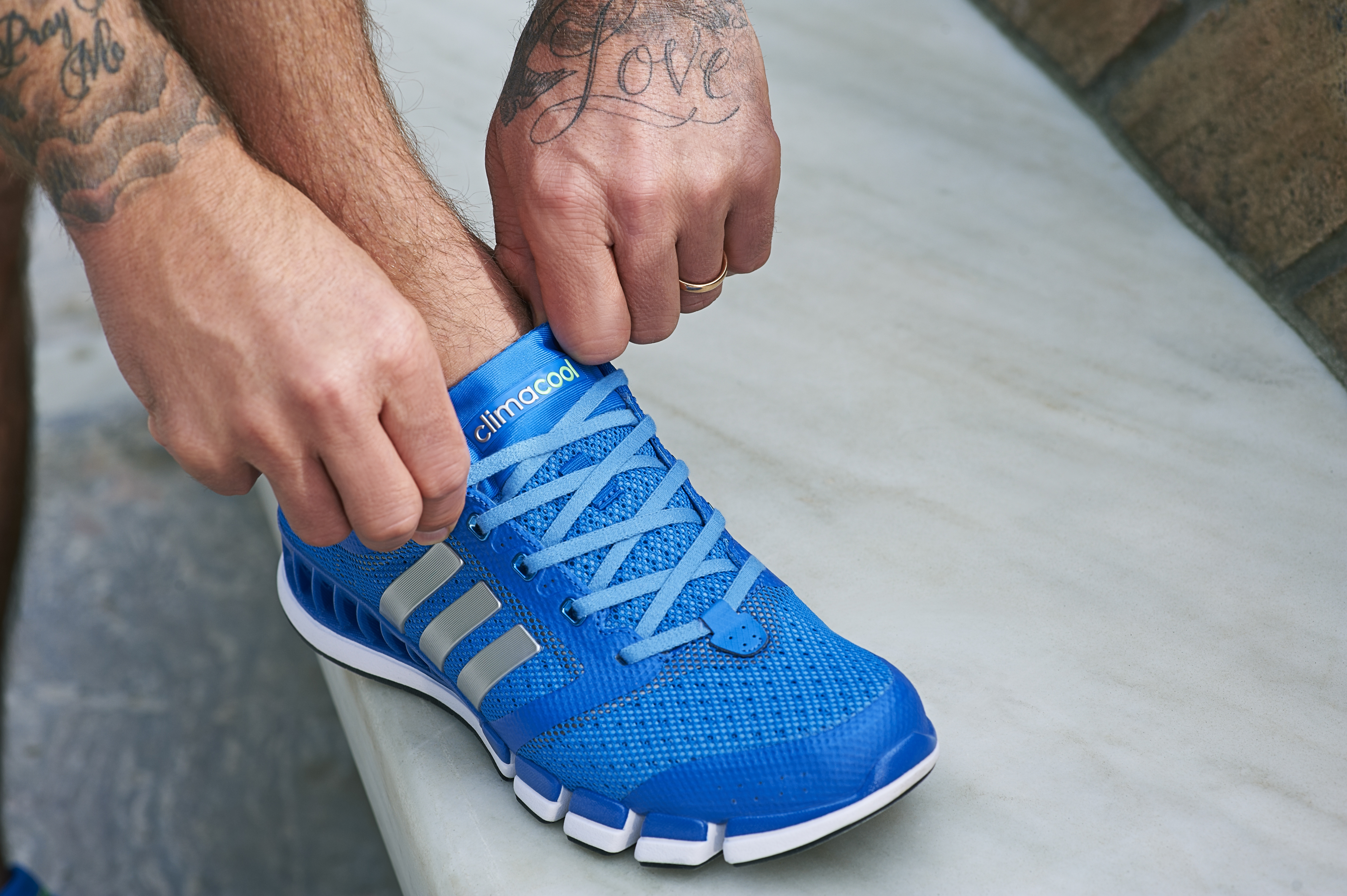 adidas climacool shoes blue