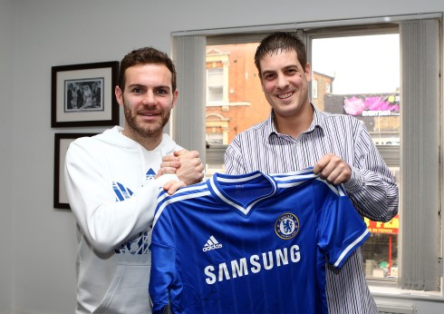 adidas: Chelsea FC New Kit with Juan Mata