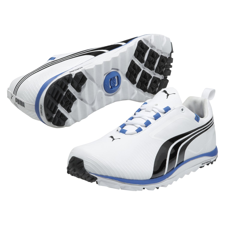 Puma Blue And White Sport Shoe