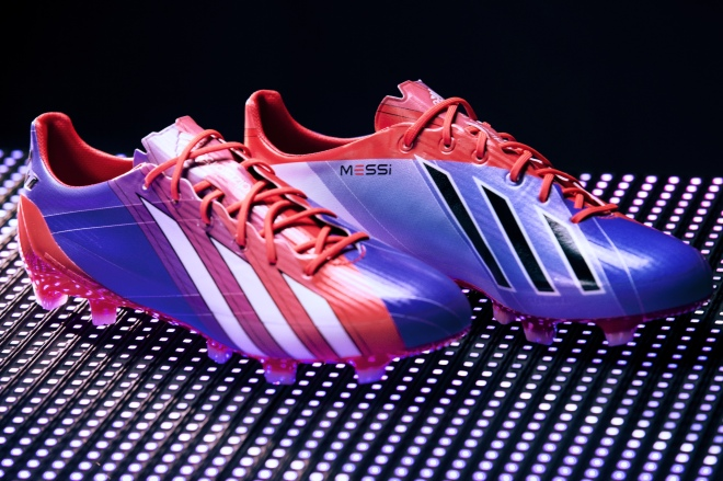 4248d07fd Football boot release: adidas launches new generation of adiZero f50  inspired by Lionel Messi