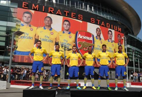 Arsenal Kit Launch