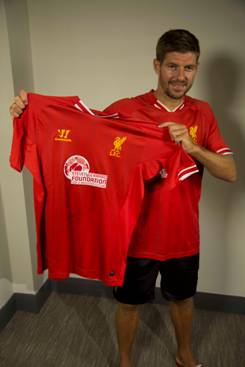 Gerrard testimonial