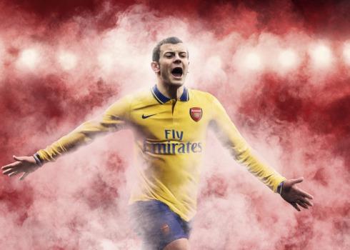 SU13_FB_ClubKit_Arsenal_AWAY_WILSHERE_HFR5_21345