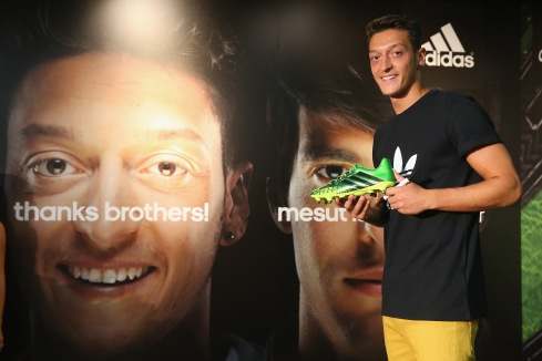 Mesut Oezil New Face Of Adidas