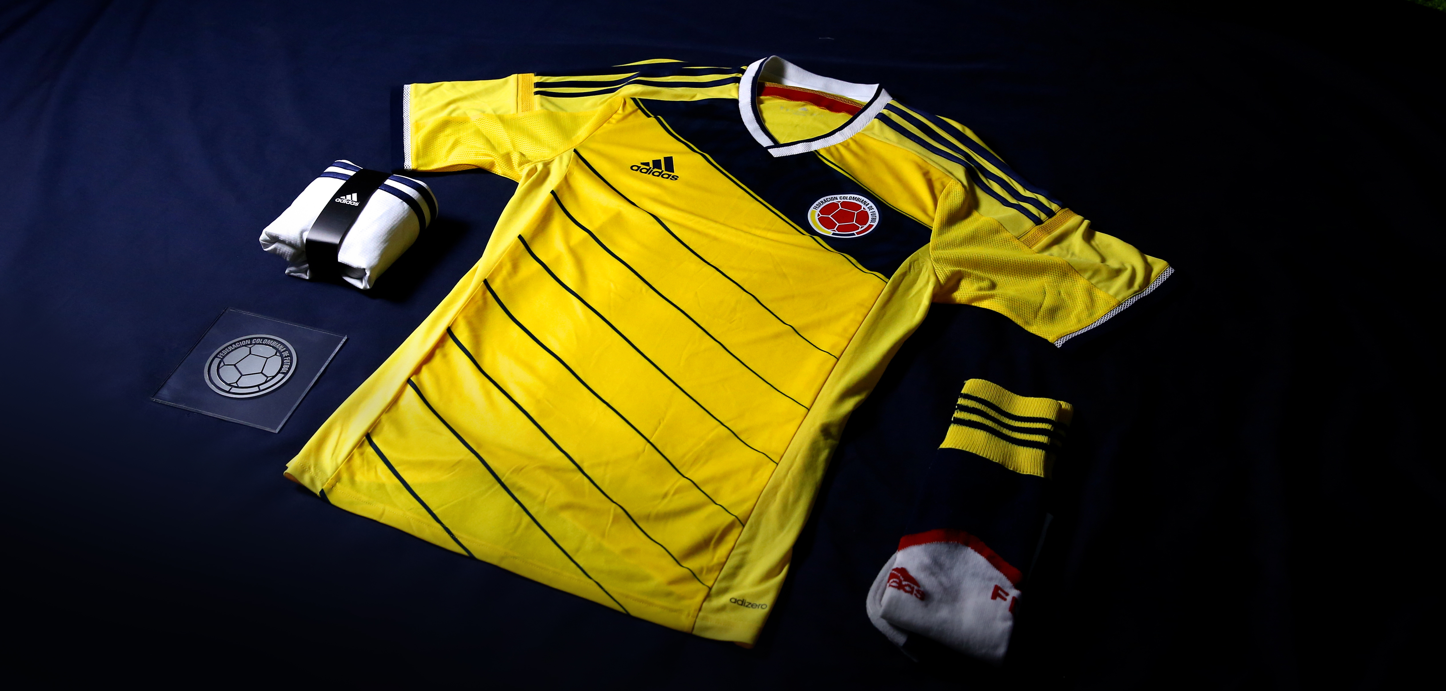 ecf527eed The Colombian national team have a sparkling new adidas kit ready for the  upcoming 2014 FIFA World Cup Brazil and Sport-locker.net can show and tell  you all ...