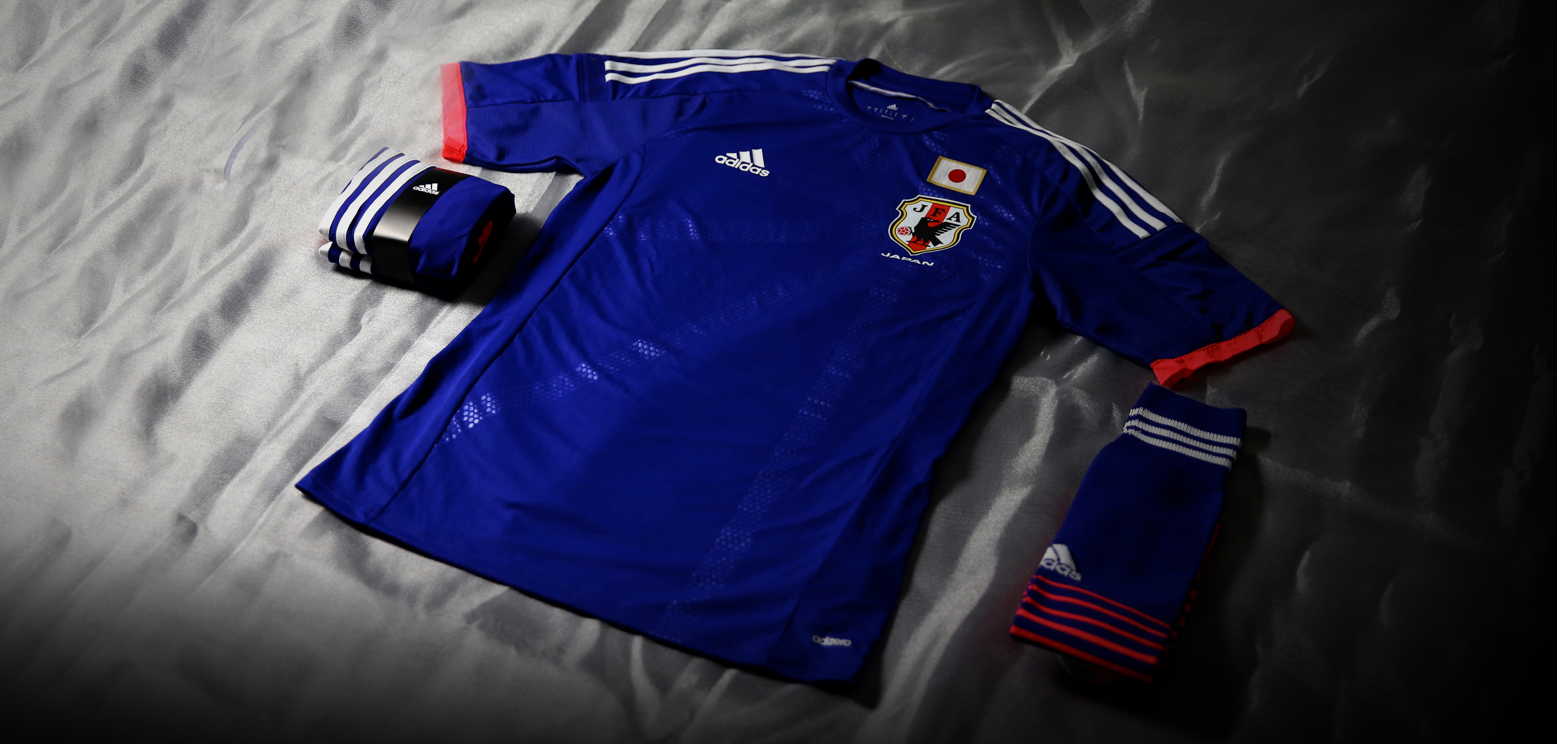 Adidas and the Japan Football Association (JFA) have unveiled the new  official home kit for the Japan National Football Team e793b32e5