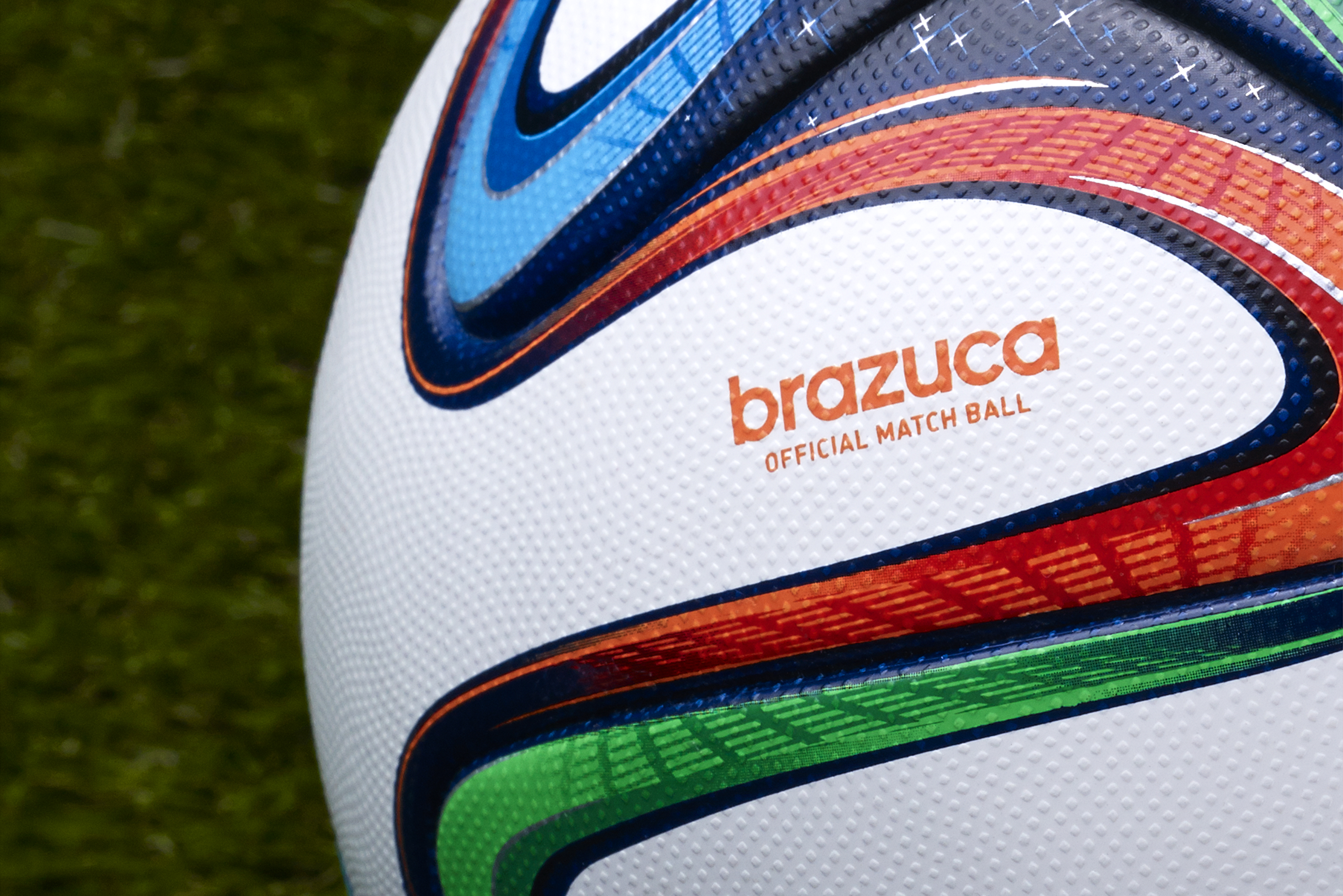 adidas unveils brazuca the official match ball of the