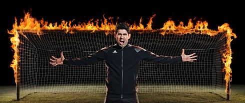 Diego Costa Man on Fire