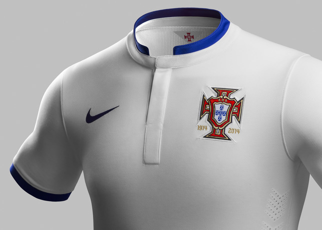 Football kit release  Nike unveils Portugal away kit for 2014 ... 8a0cf8676