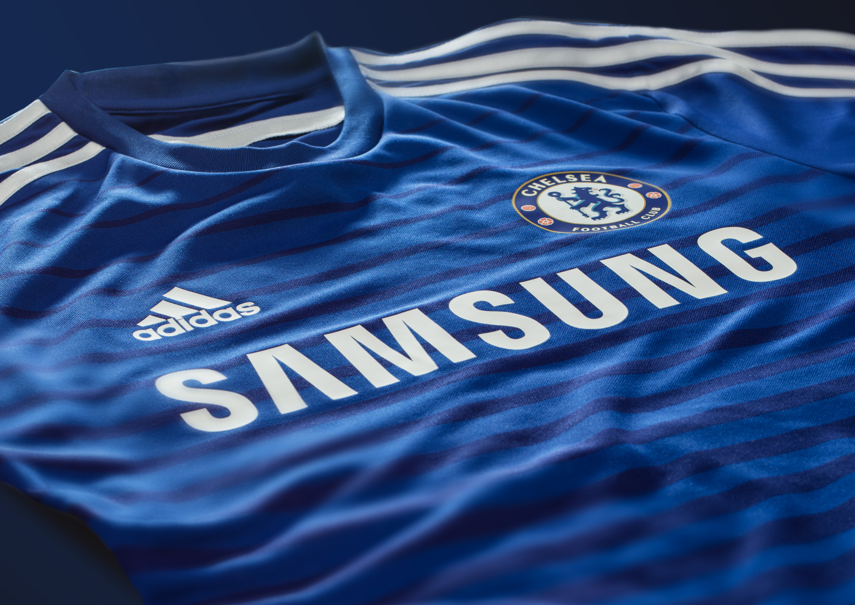 8c66b5728 Football kit release  adidas and Chelsea launch 2014 15 home kit ...