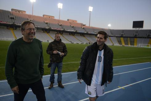 Fernando Meirelles and Messi