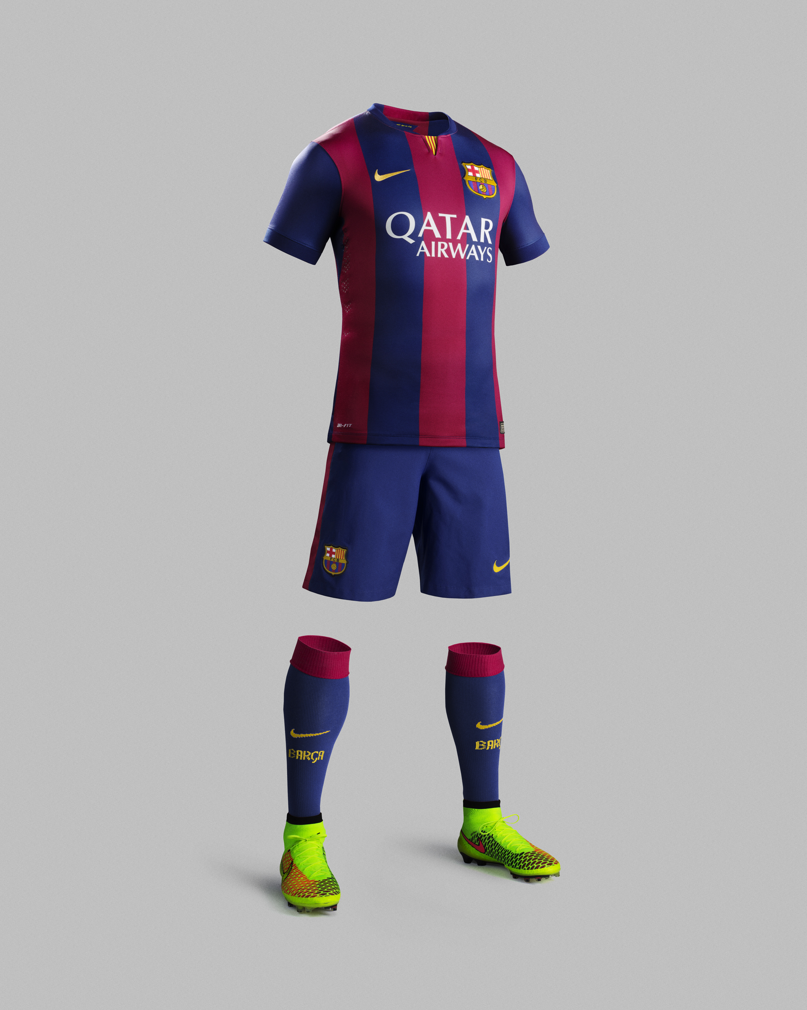 Football kit release nike unveil new fc barcelona home - New home barcelona ...