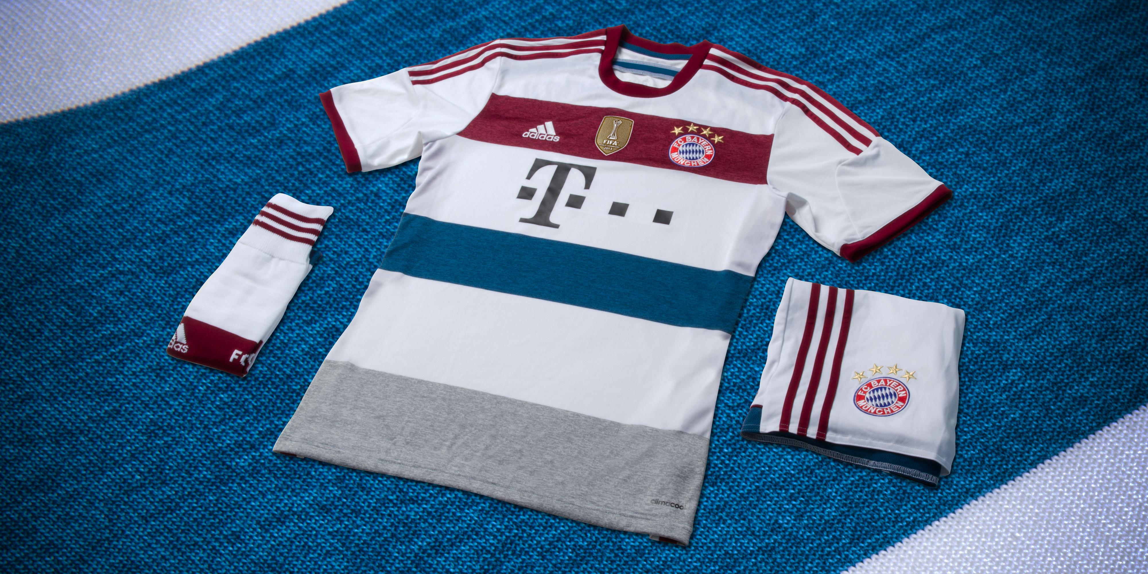 Lanzamiento del kit de fútbol: adidas presenta el de adidas del nuevo Bayern Munich 2014/2015 6d1cb25 - rspr.host