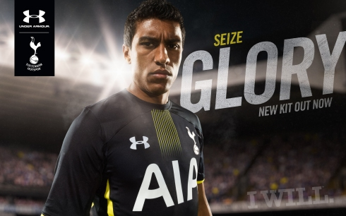 SEIZE GLORY_THFC Under Armour_Paulinho away kit