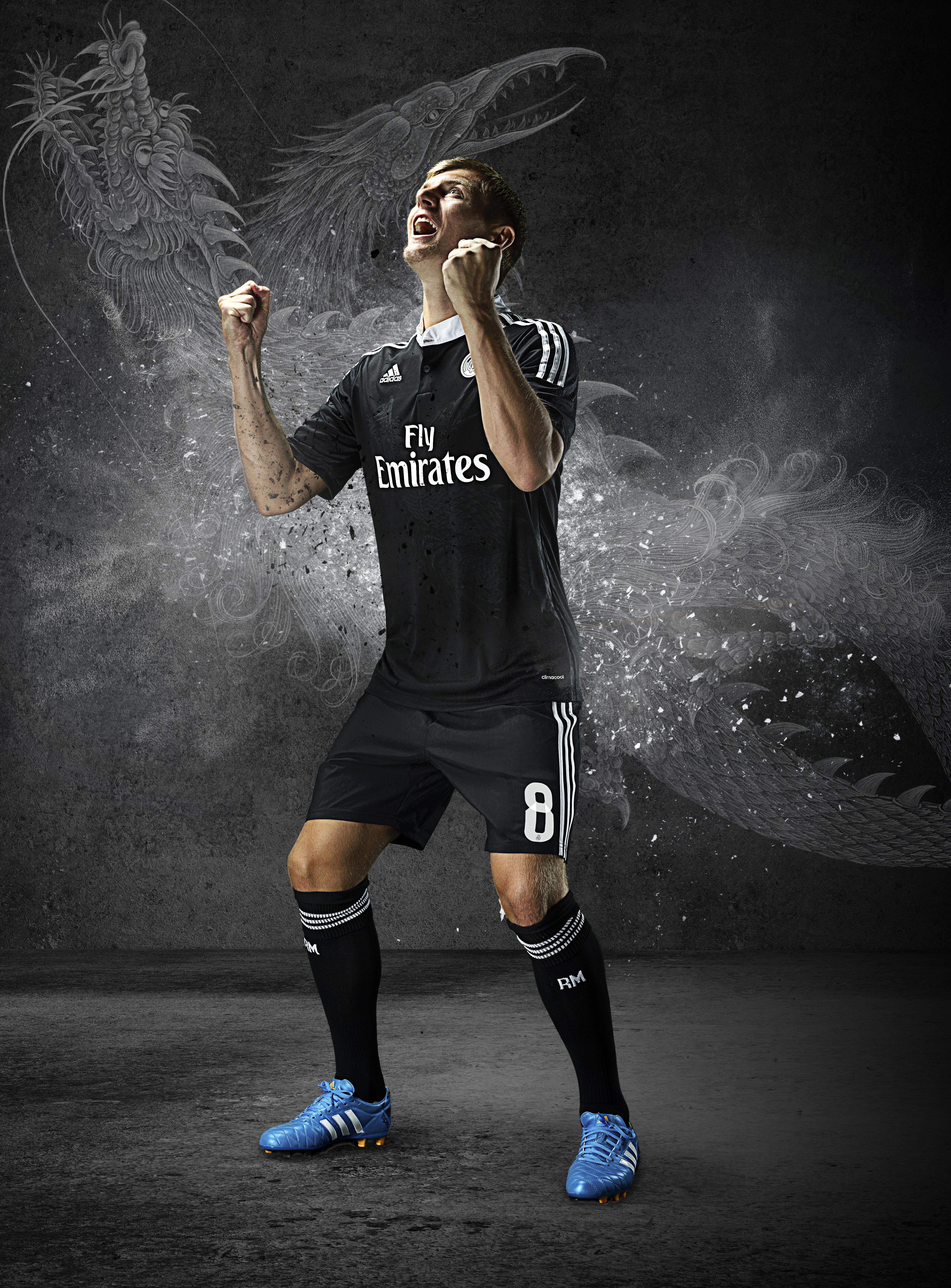 c7f51cd18ca3 Football kit release  adidas launch new Yohji Yamamoto designed Real ...