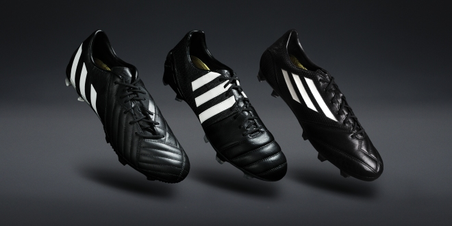 esquina candidato césped  Football boot release: adidas Pure Leather Pack – SportLocker