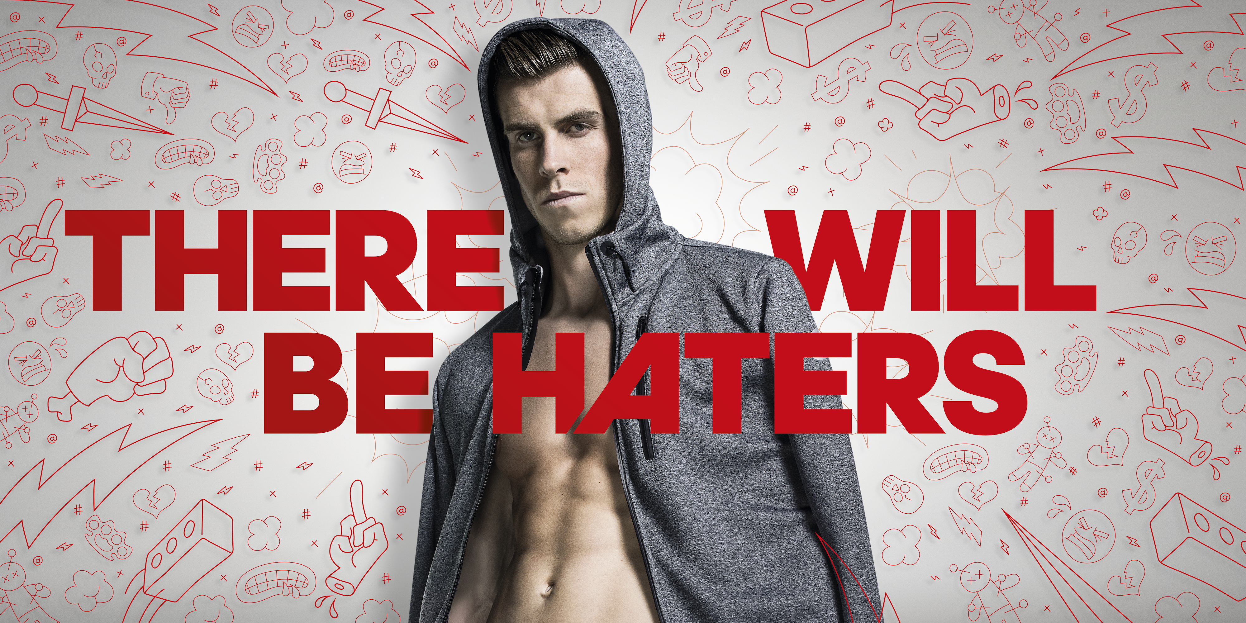 ventaja concepto Grillo  adidas launch 'There Will Be Haters; campaign with Suarez, Bale, Rodriguez  and Benzema – SportLocker
