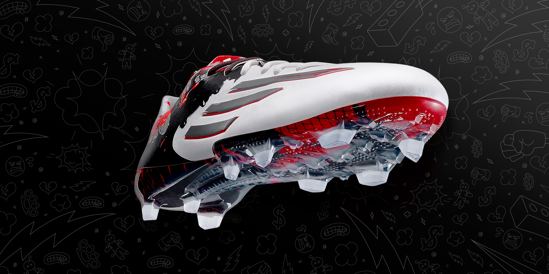 00c3a1b82bfa Football boot release: Adidas launch Pibe de Barr10 – signature ...