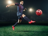 Sergio Aguero wears the new PUMA evoSPEED SL Football Boot_6