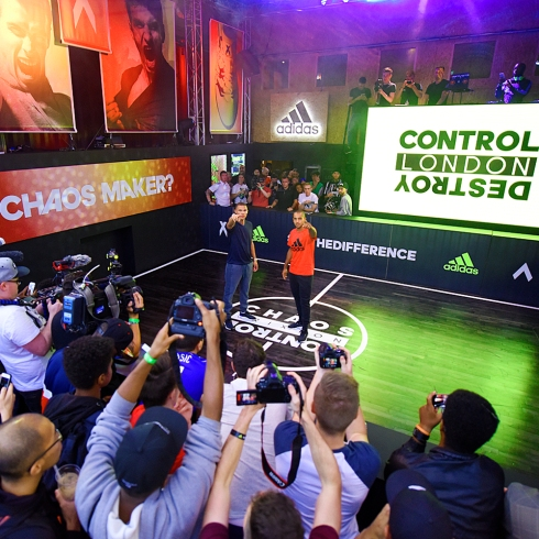 adidas Base Brixton event #BeTheDifference Image 1