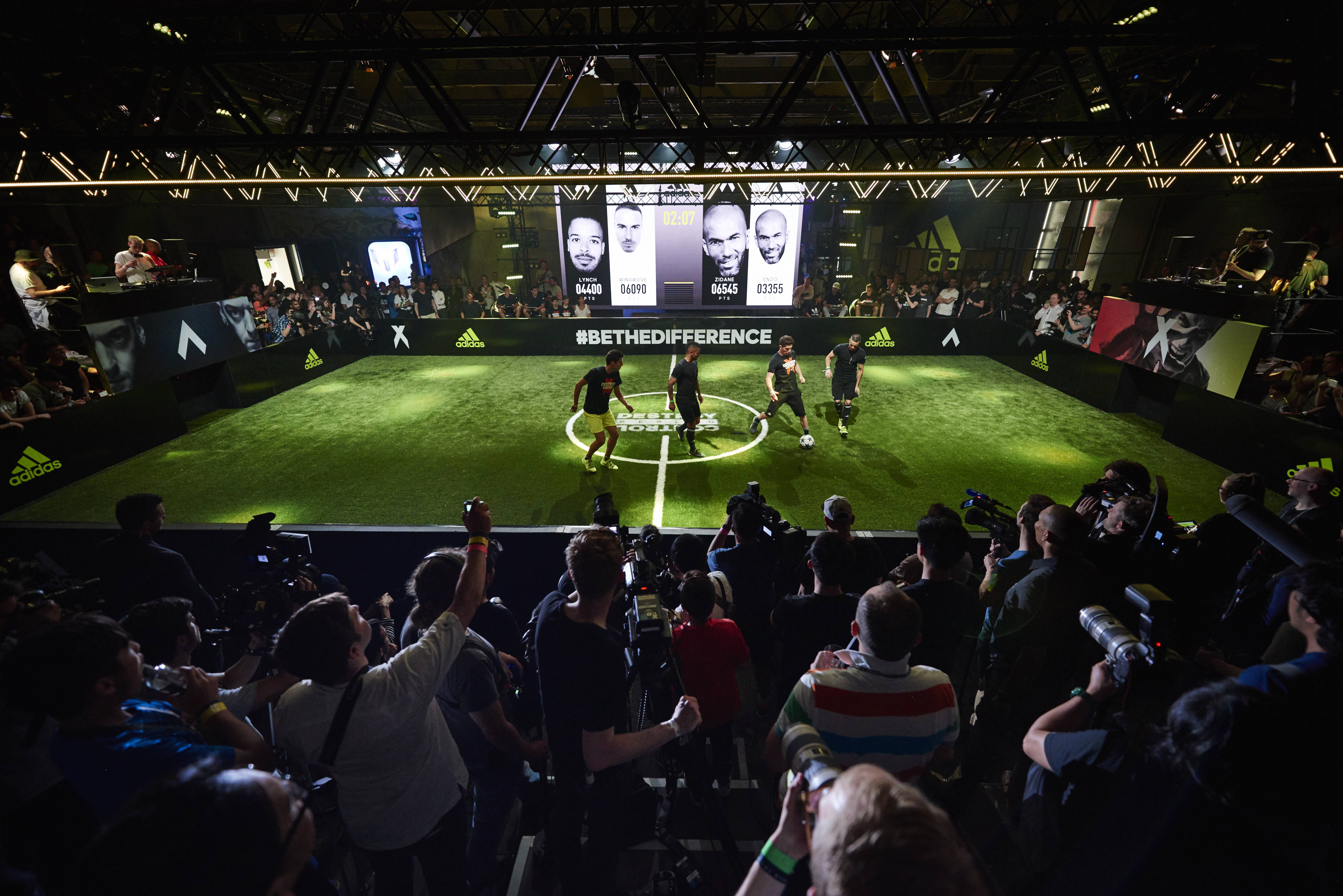 Europes Biggest Clubs Join adidas For BETHEDIFFERENCE World Final