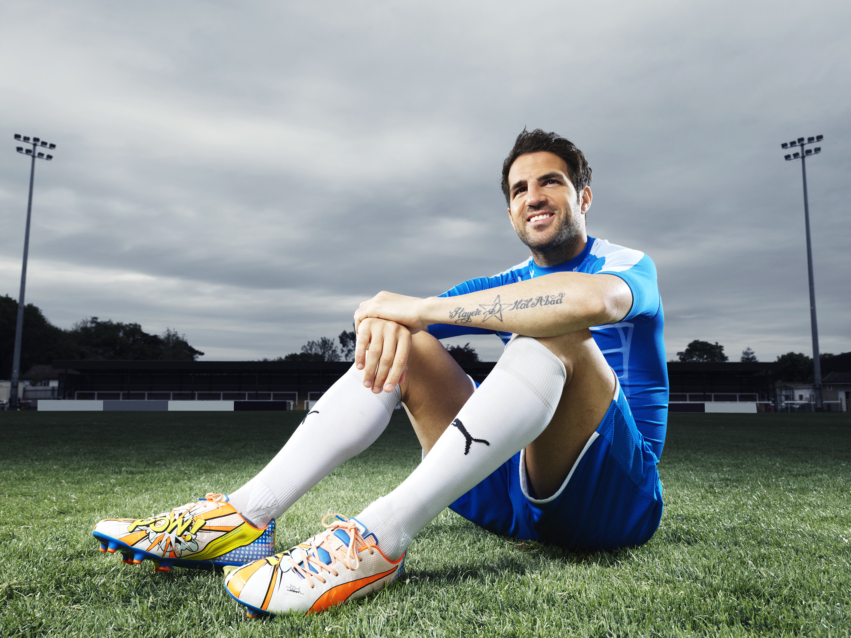 super popular 42741 ba949 Cesc Fabregas Wears the New PUMA evoPOWER 1.2 Football Boot 6