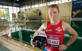 Britain's Tim Peake, European Space Agency astronaut, in training for the Digital Virgin Money London Marathon on 24 April 2016. Tim's six month mission on the International Space Station begins on 15 December 2015. Picture Bob Martin for Virgin Money London Marathon This picture may only be used with permission from Penny Dain at London Marathon