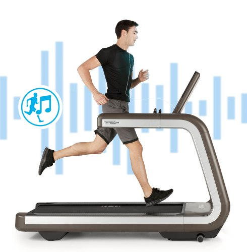 TECHNOGYM_music interactive tradmill