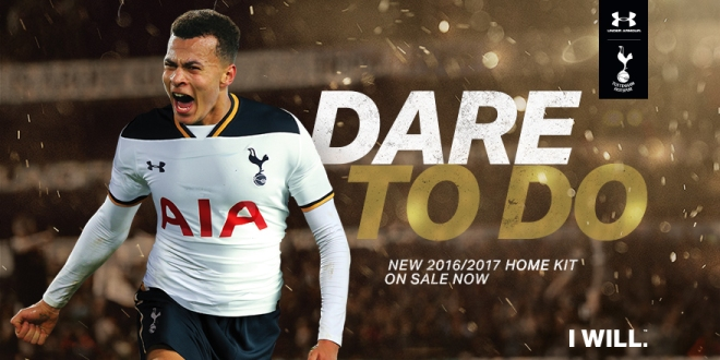 772e120b225 Football kit releases  Under Armour launch Tottenham Hotspur kits for 2016 17  season